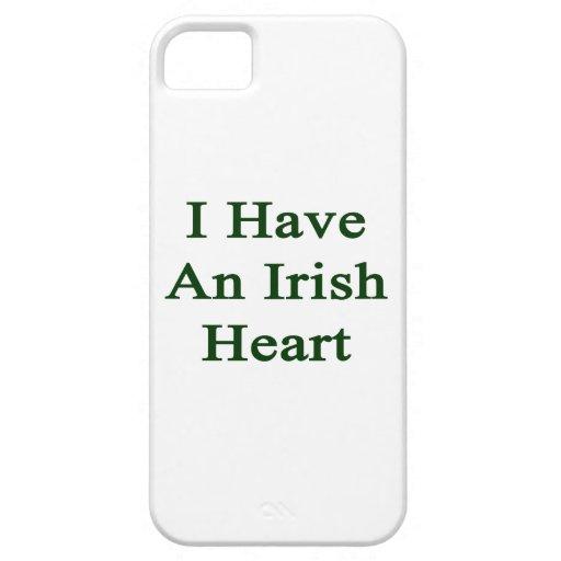 Tengo un corazón irlandés iPhone 5 carcasas