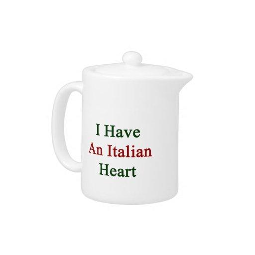 Tengo un corazón italiano