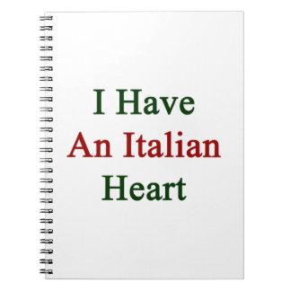 Tengo un corazón italiano libreta