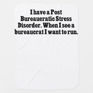 Tengo un desorden burocrático de la tensión del mantitas para bebé