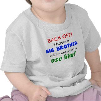 Tengo un hermano mayor camisetas