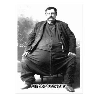 Tengo un hombre gordo del carnaval del de centro postal