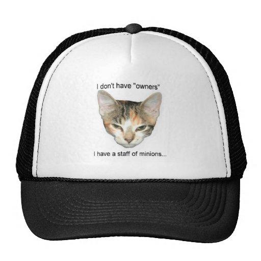Tengo un personal gorra