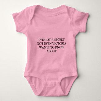 Tengo un secreto… body para bebé