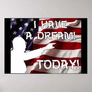 ¡Tengo un sueño hoy Impresiones
