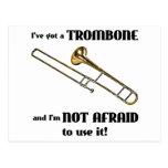 Tengo un Trombone Tarjeta Postal