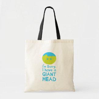 Tengo una cabeza gigante bolsas