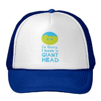 Tengo una cabeza gigante gorra