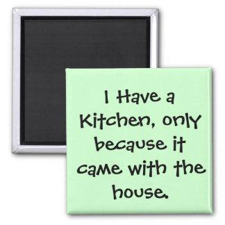 Tengo una cocina… imanes
