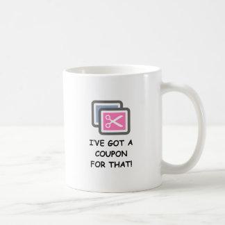 ¡Tengo UNA CUPÓN PARA ESO! Tazas De Café