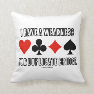 Tengo una debilidad para el puente duplicado almohadas