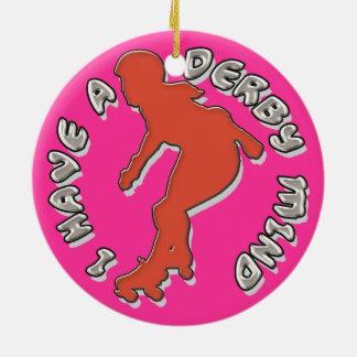 Tengo una mente de Derby Ornamentos De Reyes