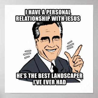 tengo una relación personal con Jesús - .png Poster
