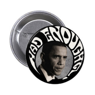 Tenía bastante pinback de Obama Pins