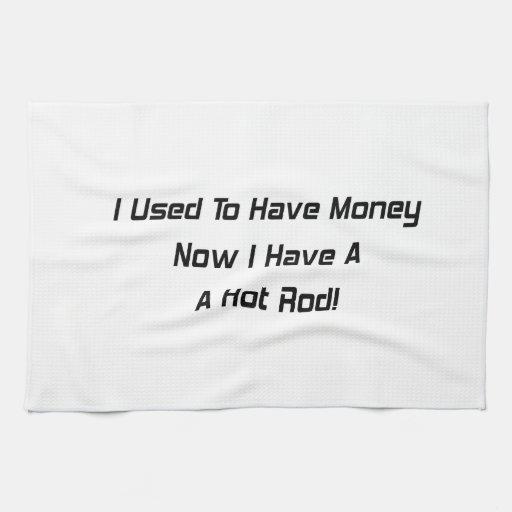 Tenía dinero ahora que tengo un coche de carreras toallas