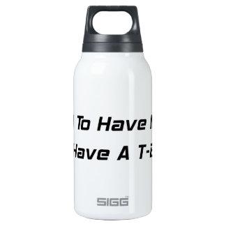 Tenía dinero ahora que tengo un Tbucket Botella Isotérmica De Agua