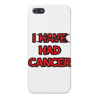 Tenía el cáncer iPhone 5 carcasas