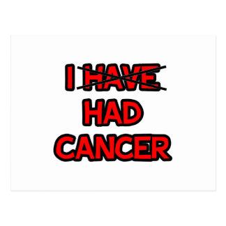 Tenía el cáncer postal