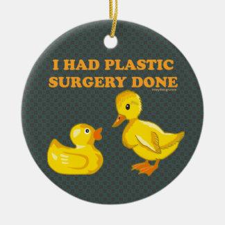 Tenía patos de la cirugía plástica ornatos