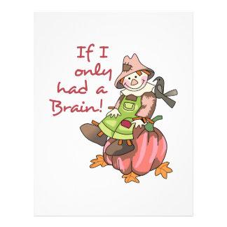 ¡Tenía un cerebro! Membretes Personalizados