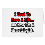 Tenía un hematólogo de la vida… tarjetón