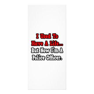 Tenía un oficial de policía de la vida… lonas publicitarias