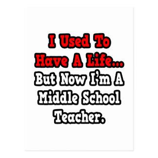 Tenía un profesor de escuela secundaria de la tarjeta postal