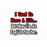 Tenía un profesor de inglés de la vida… tarjeta postal