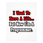 Tenía un programador de la vida… membrete personalizado