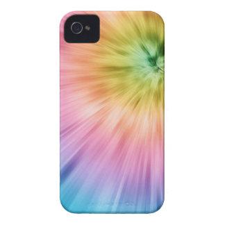 Teñido anudado colorido de Starburst Case-Mate iPhone 4 Cárcasas