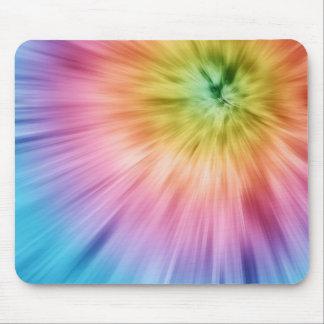 Teñido anudado colorido de Starburst Mousepad
