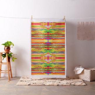 Teñido anudado colorido psicodélico telas