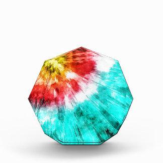 Teñido anudado colorido