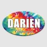 Teñido anudado Darien, pegatina del CT