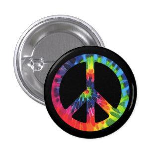 Teñido anudado de la paz pin