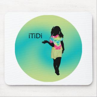 teñido anudado del iTiDi Alfombrilla De Ratones