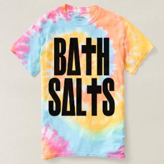 Teñido anudado en colores pastel de las sales de camisas