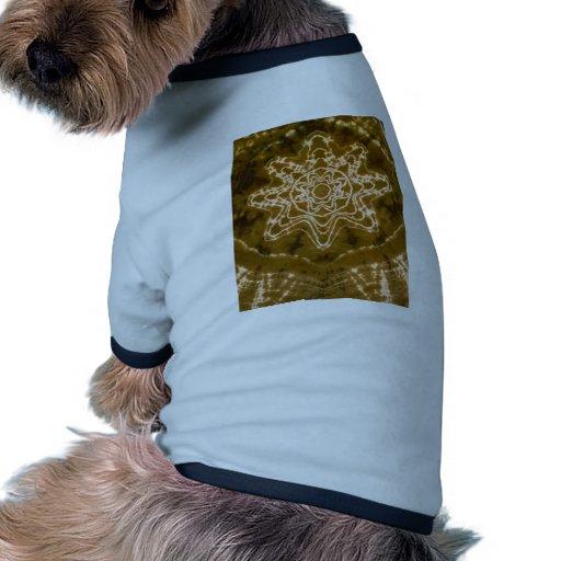 Teñido anudado fantástico de los tintes de la estr ropa perro
