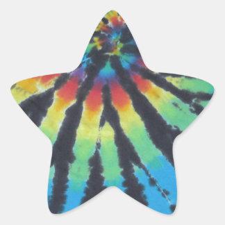 Teñido anudado PhatDyes del espiral del remolino Calcomanías Forma De Estrellaes Personalizadas