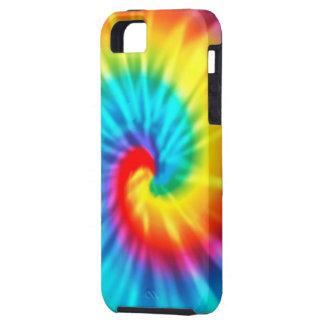 Teñido anudado psicodélico de la mente iPhone 5 Case-Mate funda