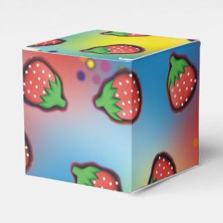 Teñido anudado Strawberry Fields Caja Para Regalos