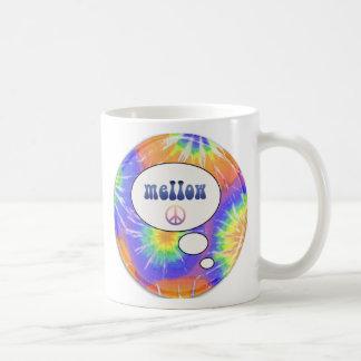 teñido anudado suave tazas de café