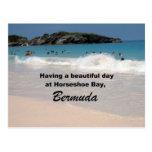 Teniendo un día hermoso… tarjeta postal