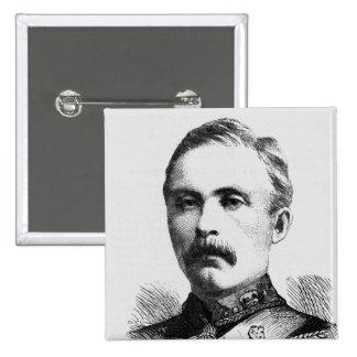 Teniente coronel Hamill Stewart Pin Cuadrada 5 Cm
