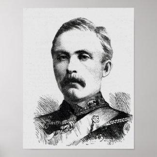 Teniente coronel Hamill Stewart Póster