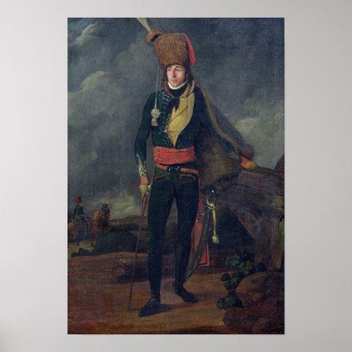 Teniente de los 8vos húsares posters