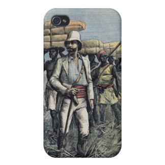 Teniente Mizon en su misión 1892 iPhone 4/4S Fundas