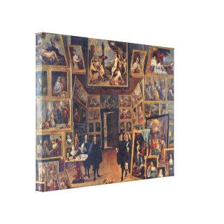 Teniers J David - Gallery of Archduke Leopold Canvas Print