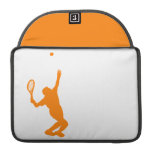Tenis anaranjado y blanco funda para macbooks