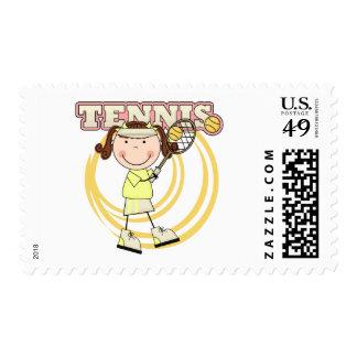 TENIS - camisetas y regalos triguenos del chica Timbres Postales